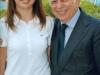 Con la nipote Chiara, 2010