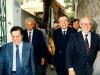 Con Andreotti a Capri 1984
