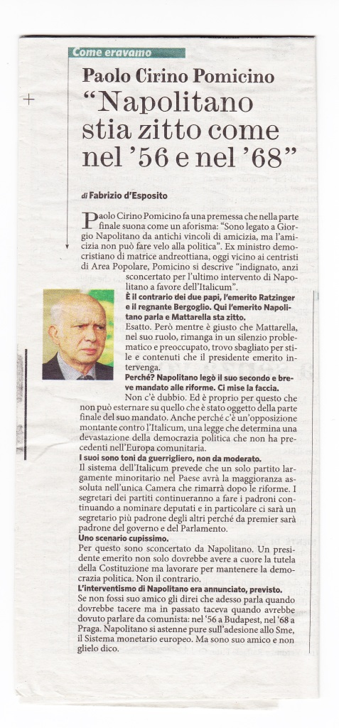 intervista Fatto