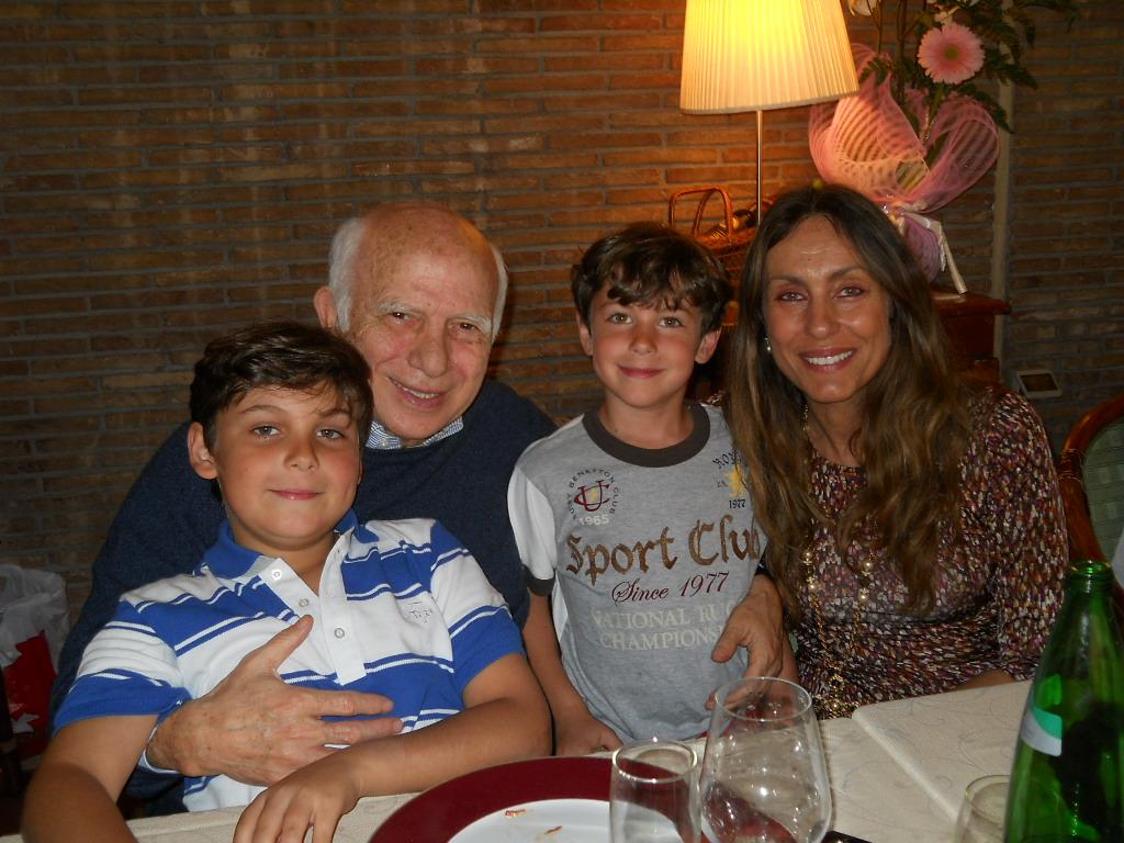 Paolo Cirino Pomicino e la compagna Lucia Marotta