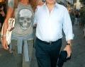 Paolo Cirino Pomicino con la  compagna Lucia Marotta