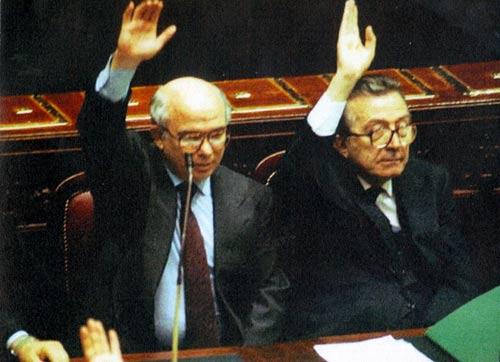 Con Andreotti, 1989