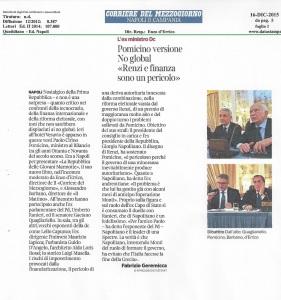 Corriere mezzogiorno 16-12-2015